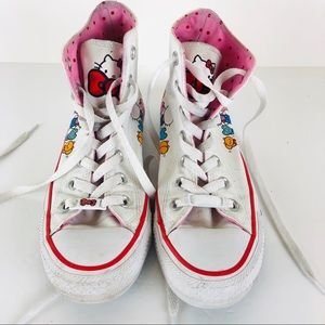 Converse Hello Kitty high tops size 7